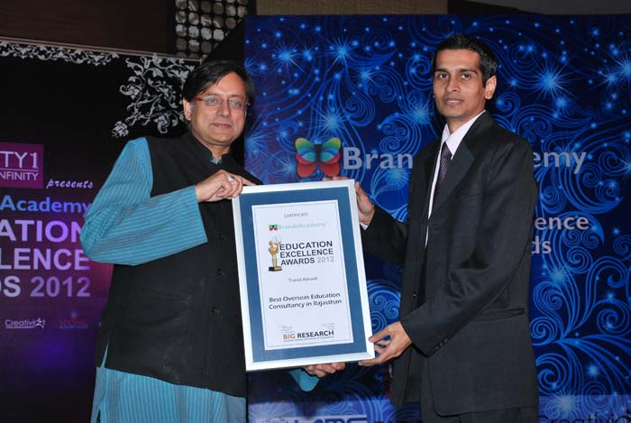 Education Award Received by Dr. Shashi Throor